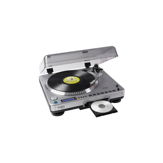 ION LP2CD TURNTABLE WITH BUILT IN CD RECORDER