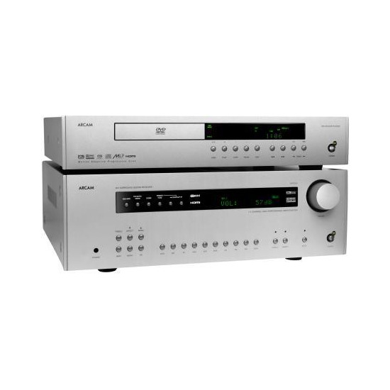ARCAM DiVA DV135 DVD PLAYER & AVR280 AV RECEIVER SYSTEM SIZZLER
