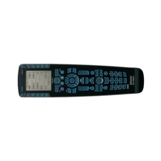DENON RC7000 LEARNING REMOTE CONTROL WITH RC7001 RF REPEATER