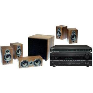 Photo of ONKYO DVSP406 DVD PLAYER (MULTI-REGION), TXSR576 AV RECEIVER &Amp; WHARFEDALE 9HCP SYSTEM SIZZLER Receiver