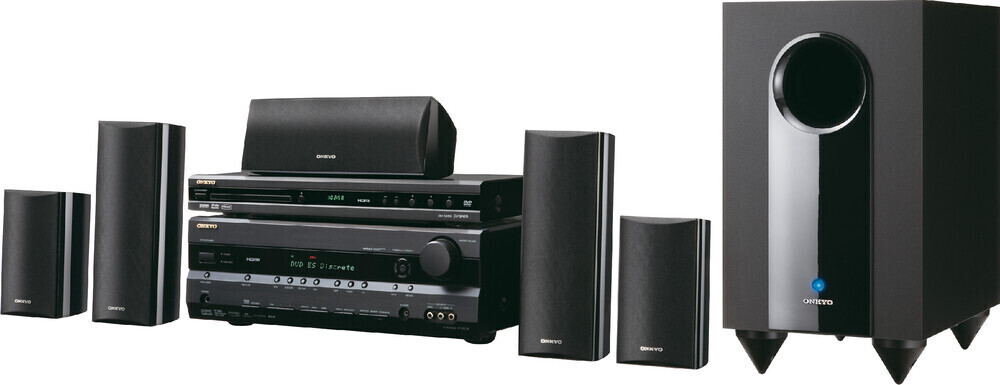how to connect onkyo surround sound system