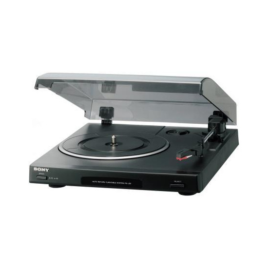 SONY PSJ20 MICRO-SIZED TURNTABLE
