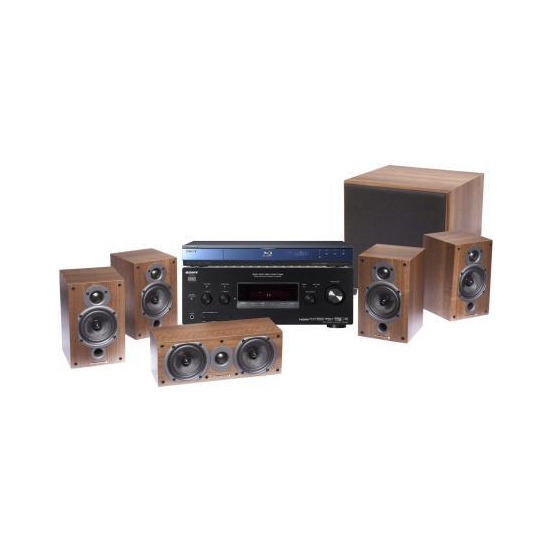 Sony BDP-S350 with STRDG820 Receiver & Speakers
