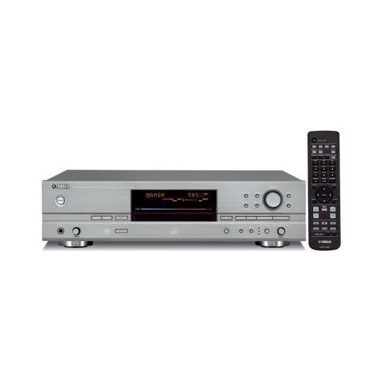 YAMAHA CDRHD1500 CD & HARD DISK RECORDER (TITANIUM)