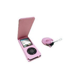Photo of ILab IL05 Nano Leather Case Pink iPod Accessory