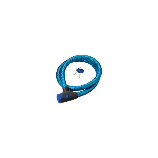 Oxford Blue 1.5m Barrier Cable Lock