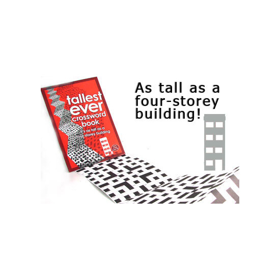 Tallest Ever Crossword Book