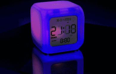 Aurora Touch Clock