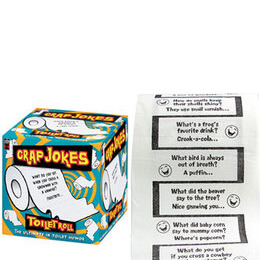 Crap Jokes Toilet Roll Reviews