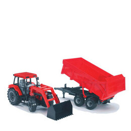 Bruder - Tractor and Trailer Red Case Reviews