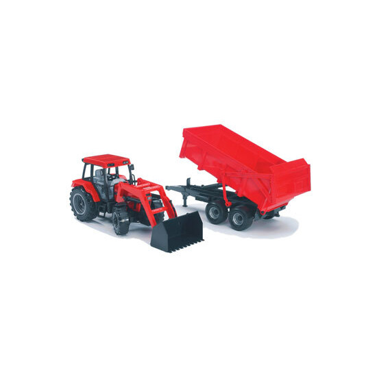 Bruder - Tractor and Trailer Red Case