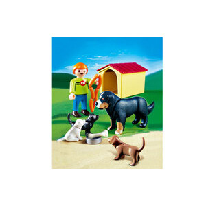Photo of Playmobil - Dog & Puppies 4498 Toy