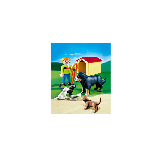 Playmobil - Dog & Puppies 4498