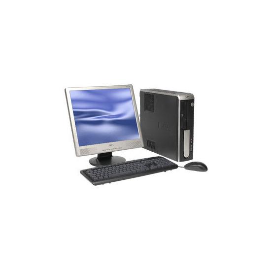 NEC PowerMate VL260: PD E2180 1GB 80GB DVD-RW Vista Business (XP) 1Yr On-Site
