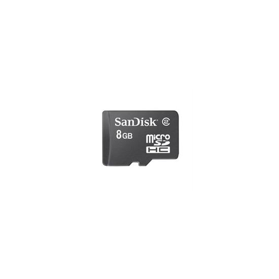 SanDisk - Flash memory card - 8 GB - Class 2 - microSDHC