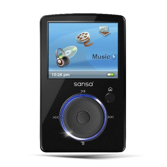 Sandisk Sansa Fuze 4GB