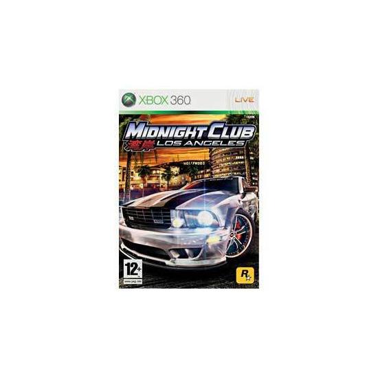 Midnight Club IV: Los Angeles (Xbox 360)