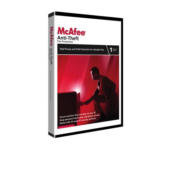 McAfee Anti-Theft 2009 Anti-Virus & Security Software