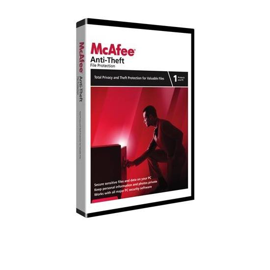 McAfee Anti-Theft 2009 Anti-Virus & Security Software