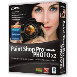 Photo of Corel Paint Shop Pro X2 Ultimate Software