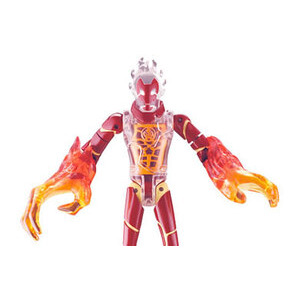Photo of Ben 10 - 15CM DNA Alien Heroes - Heatblast Toy