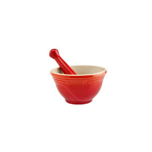 Photo of Le Creuset Volcanic Pestle and Mortar Cookware