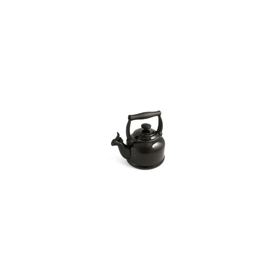 Le Creuset Stoneware Whistling Traditional Kettle - Satin Black