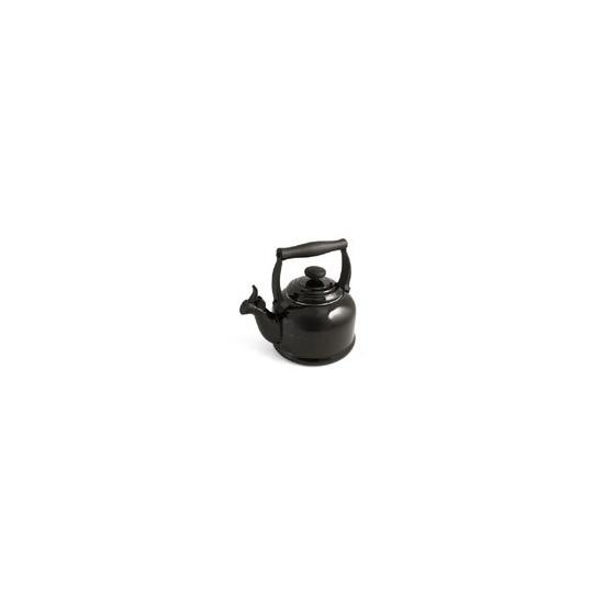 Le Creuset Stoneware Whistling Traditional Kettle - Satin Black