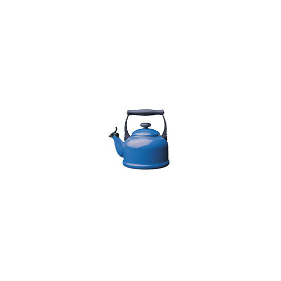 Le Creuset Stoneware Whistling Traditional Kettle - Graded Blue
