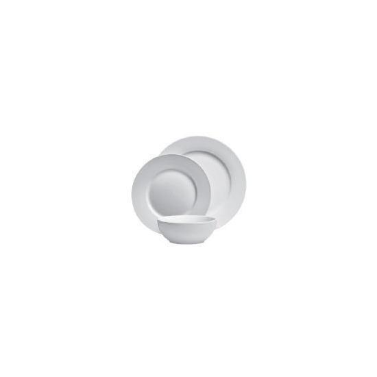 Tesco rimmed porcelain 12 piece set