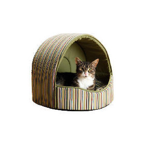 Photo of Striped Cat Bed Home Miscellaneou