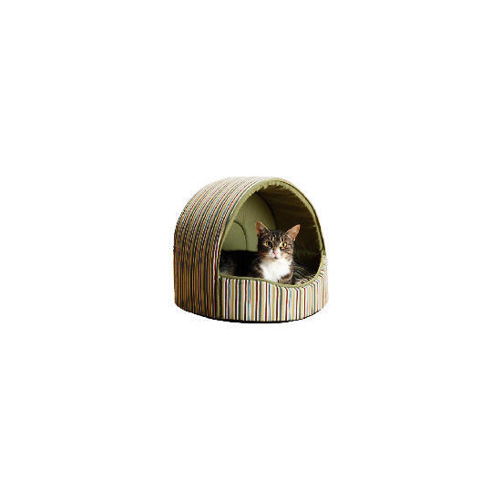 Striped Cat Bed