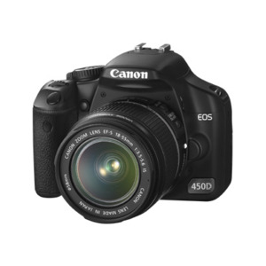 Photo of Canon EOS 450D With 18-55MM and 55-250MM Lenses Digital Camera