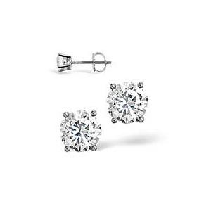 Photo of 18KW Diamond Stud Earrings 0.66CT g/VS Jewellery Woman