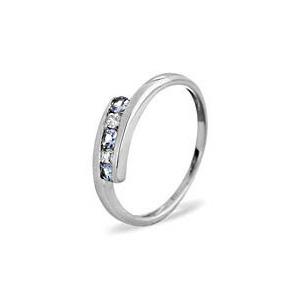 Photo of 9KW DIAMOND TANZANITE RING 0.01CT Jewellery Woman