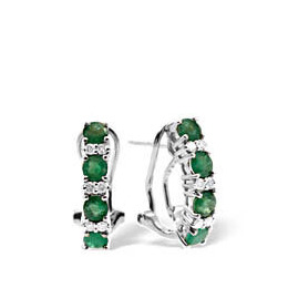 9KW DIAMOND EMERALD EARRINGS 0.16CT Reviews