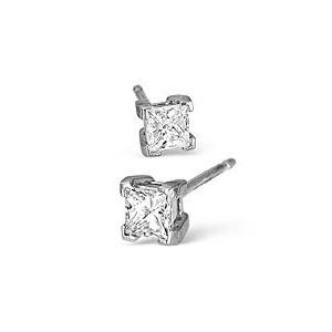 Photo of 18KW Diamond Stud Earrings 0.50CT H/SI Jewellery Woman