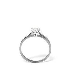 LOW SET CHLOE PLATINUM DIAMOND SOLITAIRE RING 1.00CT H/SI Reviews
