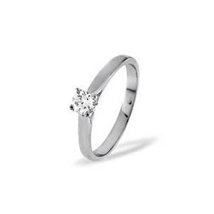 Photo of Petra 18KW Diamond Solitaire Ring 0.33CT g/VS Jewellery Woman
