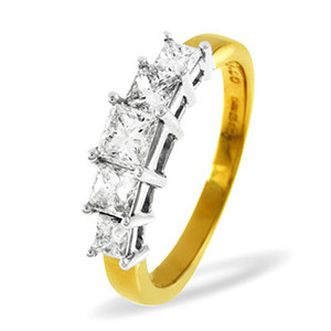 Photo of 18KY DIAMOND RING 0.25CT H/SI Jewellery Woman