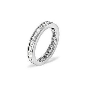 Photo of RAE PLATINUM DIAMOND FULL ETERNITY RING 0.50CT H/SI Jewellery Woman