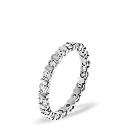 Hannah Platinium Diamond Full Eternity Ring Reviews