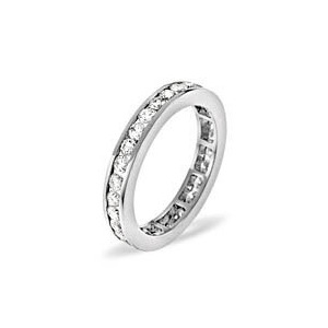 Photo of Rae 18KW Diamond Full Eternity Ring 1.00CT H/SI Jewellery Woman