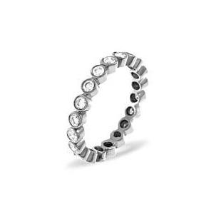 Photo of EMILY PLATINUM DIAMOND FULL ETERNITY RING 0.50CT g/VS Jewellery Woman