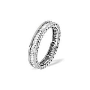 Photo of SKYE PLATINUM DIAMOND FULL ETERNITY RING 1.00CT H/SI Jewellery Woman