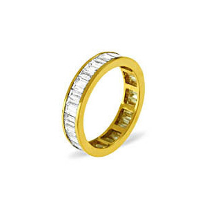 Photo of Grace 18KY Diamond Full Eternity Ring 1.0CT Jewellery Woman