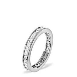 LAUREN 18KW DIAMOND FULL ETERNITY RING 1.00CT G/VS Reviews