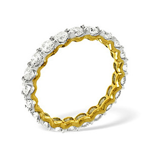 Photo of CHLOE 18KY DIAMOND FULL ETERNITY RING 1.00CT g/VS Jewellery Woman