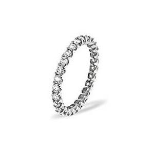 Photo of Chloe Platinum Diamond Full Eternity Ring 1.00CT H/SI Jewellery Woman
