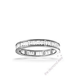 GRACE PLATINUM DIAMOND FULL ETERNITY RING 1.50CT H/SI Reviews